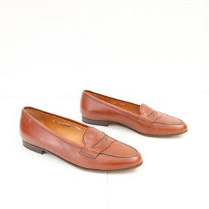 Ralph Lauren brown penny loafer size 7.5 B
